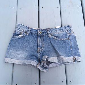 Polo girl's jean shorts